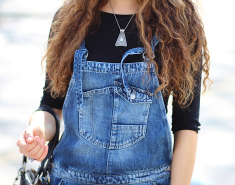 Wearing my first dungaree or simply the Latzhose