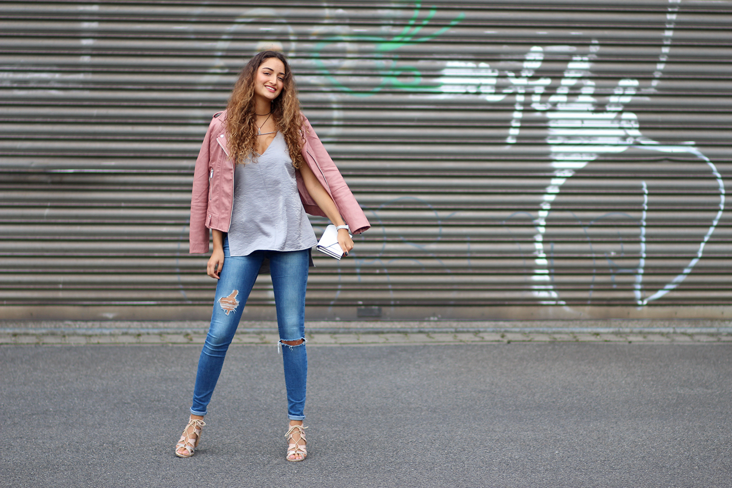 Rose Leather Jacket