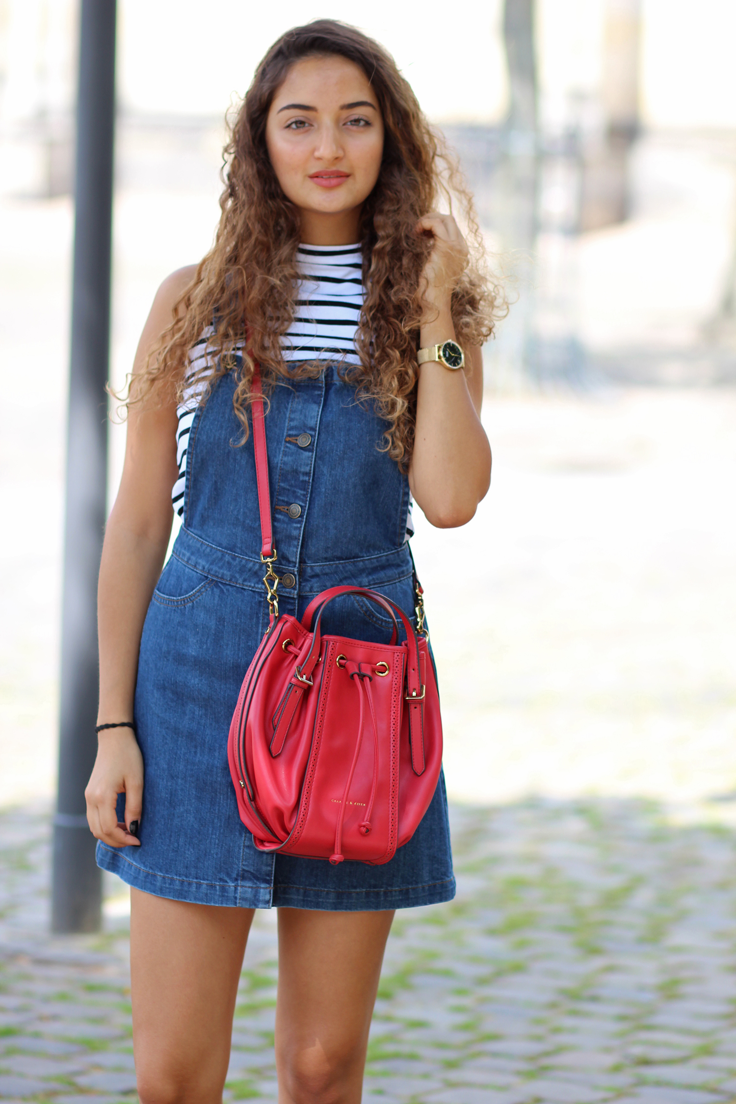Dungaree Jeans Dress