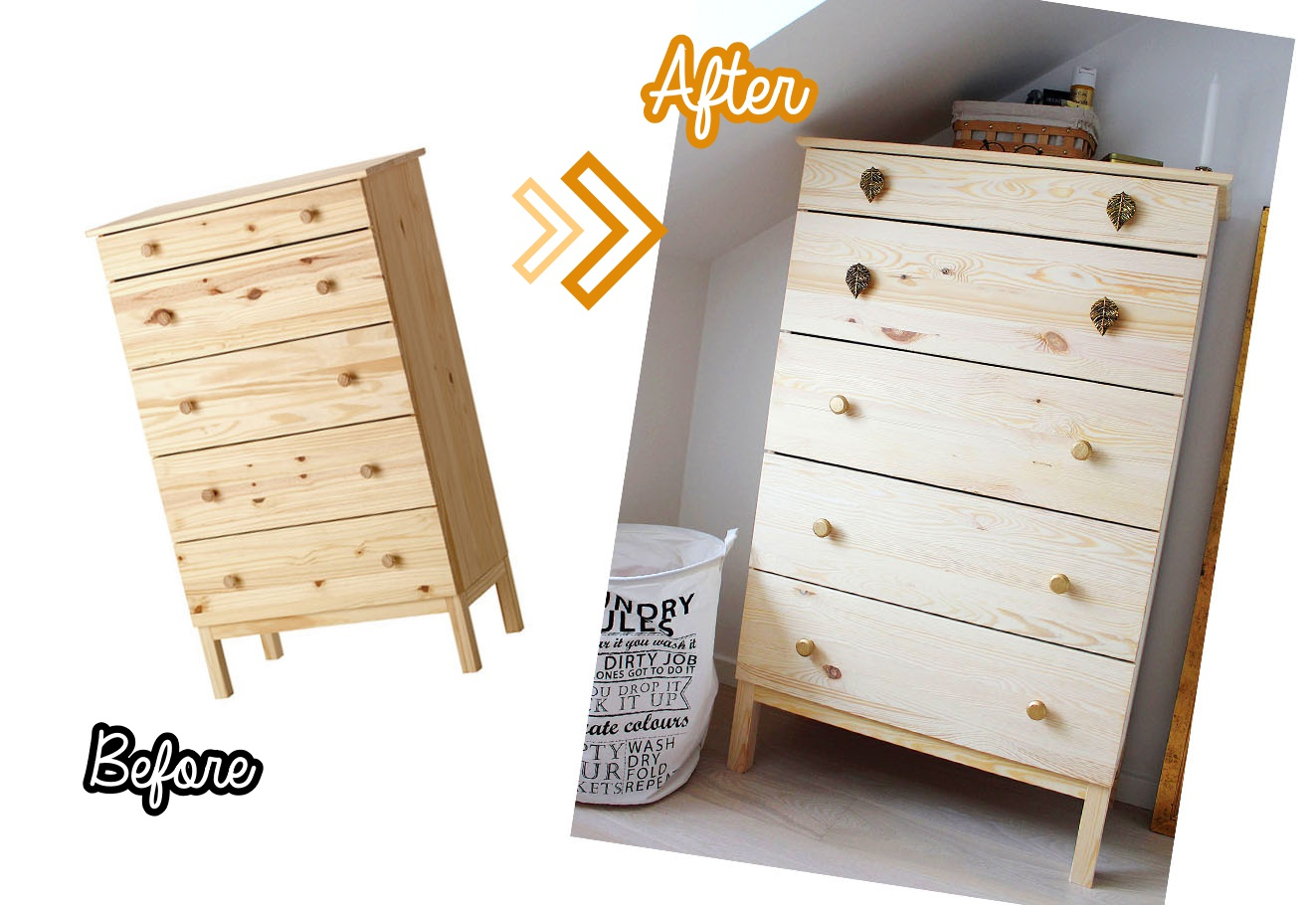 Ikea Hack Tarva Regal