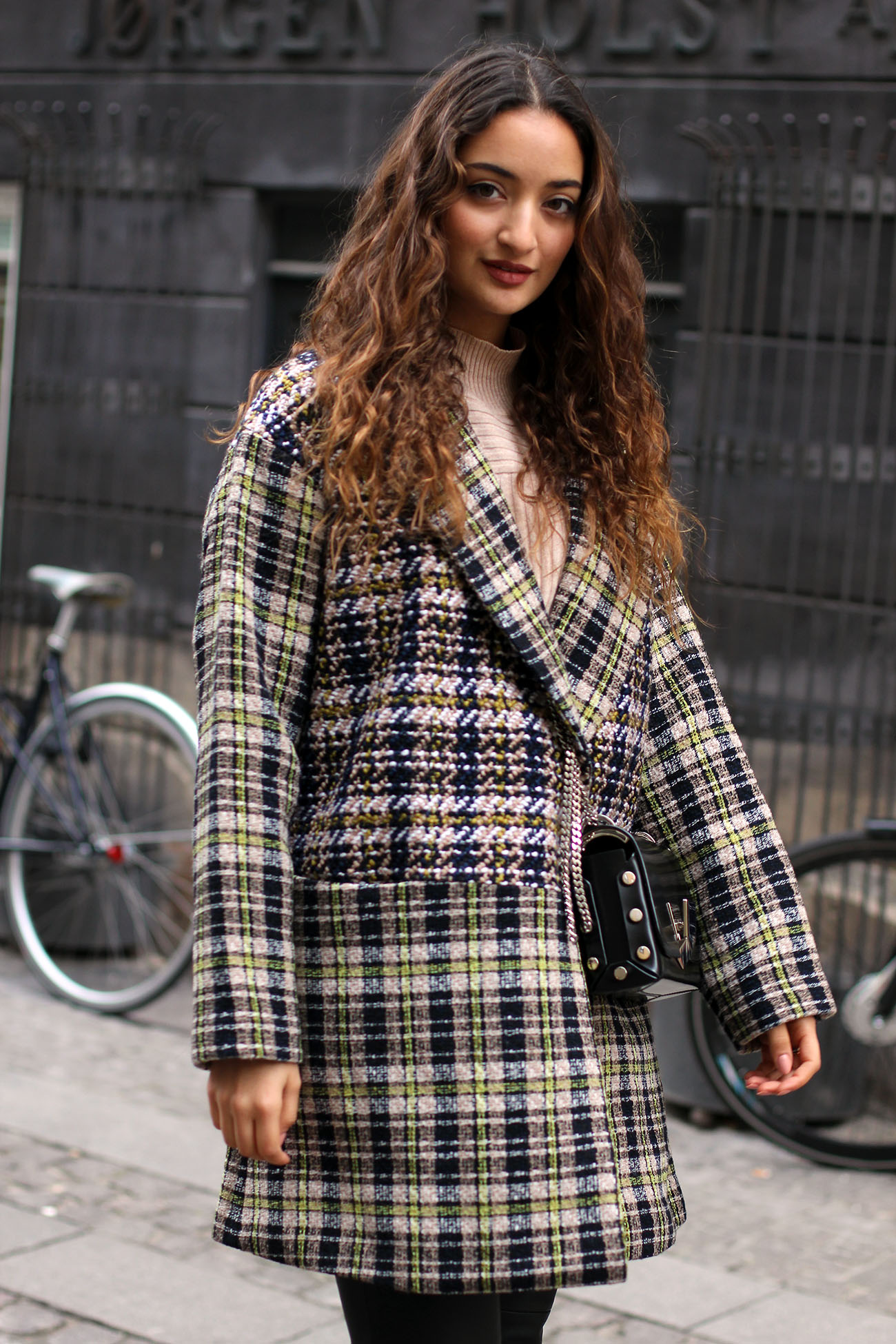 Checked Coat for Autumn 2017