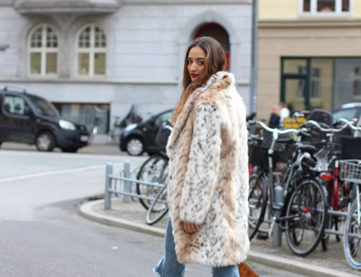 How to style leopard coat
