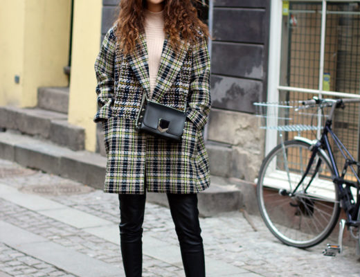 Plaid Coat French Connection
